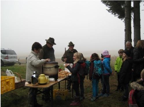 Die 3 Klassen Erkunden Den Wald Grundschule Mauern